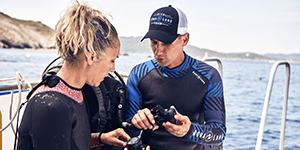 scuba diving lesson